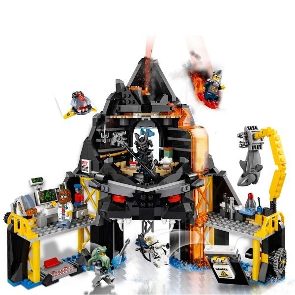LEGO Ninjago Garmadon'un Volkan Sığınağı 70631