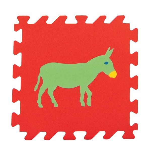 Pilsan Yer Karosu Renkli Hayvanlar
