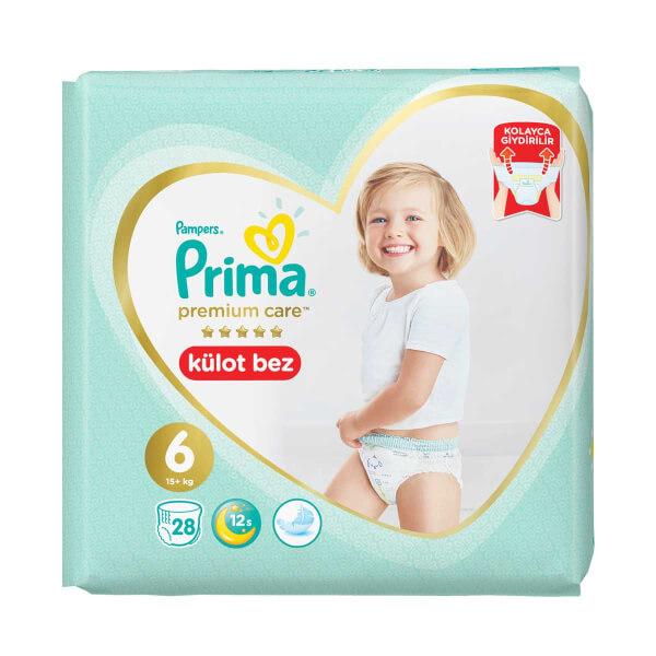 Prima Premium Care 28'li Külot Bebek Bezi Ekstra Large 6 Beden 15+ Kg
