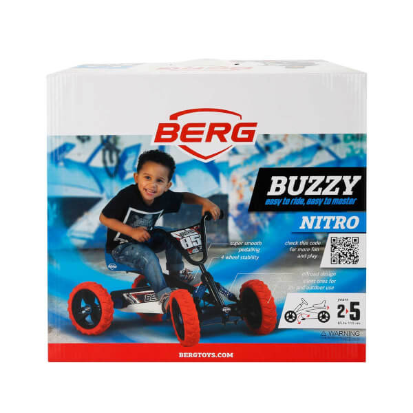 Berg Buzzy Nitro Pedallı Go kart