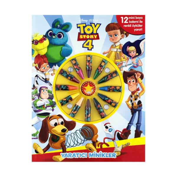 Disney Toy Story 4 Yaratıcı Minikler Boyama Kitabı