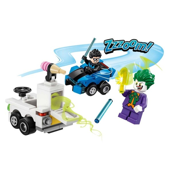 LEGO DC Comics Mighty Micros: Nightwing Joker'e Karşı 76093