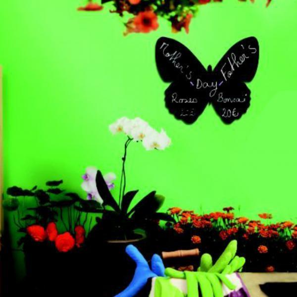 Kelebek Şekilli Duvar Aksesuarı 30x50 cm.