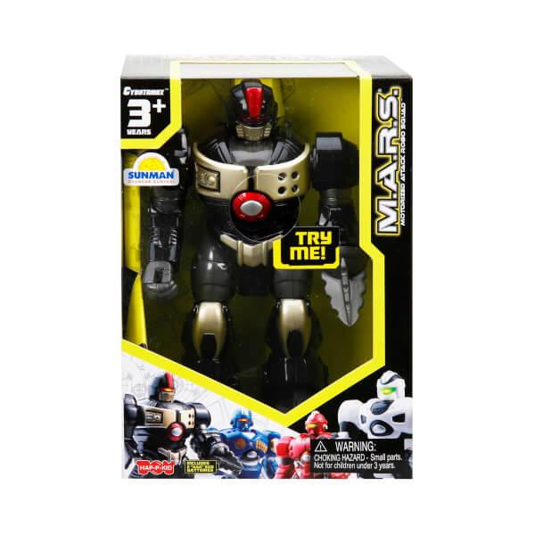 M.A.R.S. Sesli ve Işıklı Yürüyen Robot 18 cm.