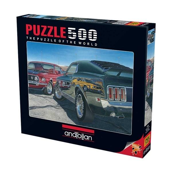 500 Parça Puzzle : Maksimum Hız