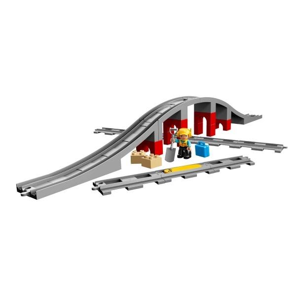 LEGO DUPLO Town Tren Köprüsü ve Rayları 10872