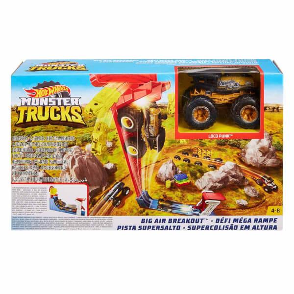 Hot Wheels Monster Truck Gökyüzüne Kaçış Oyun Seti GCG00