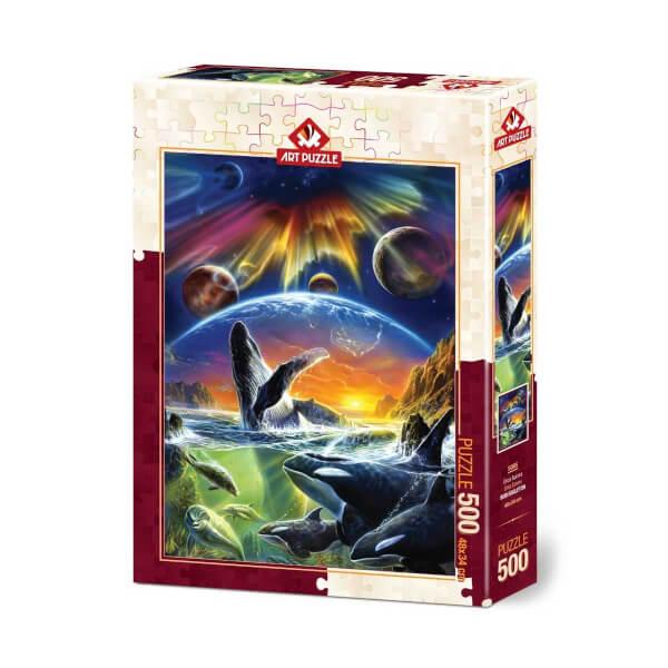 500 Parça Puzzle : Orka Evreni
