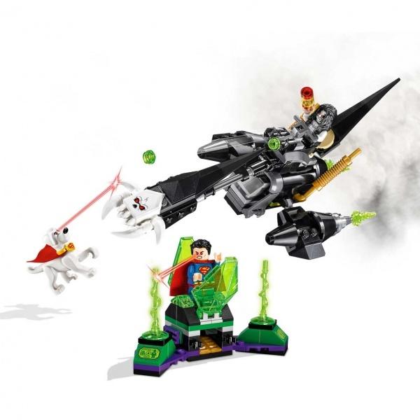 LEGO DC Comics Super Heroes Superman ve Krypto Takımı 76096