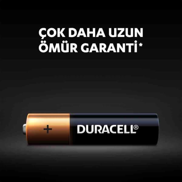 Duracell Kalem Pil Turbo Max AA 4'lü