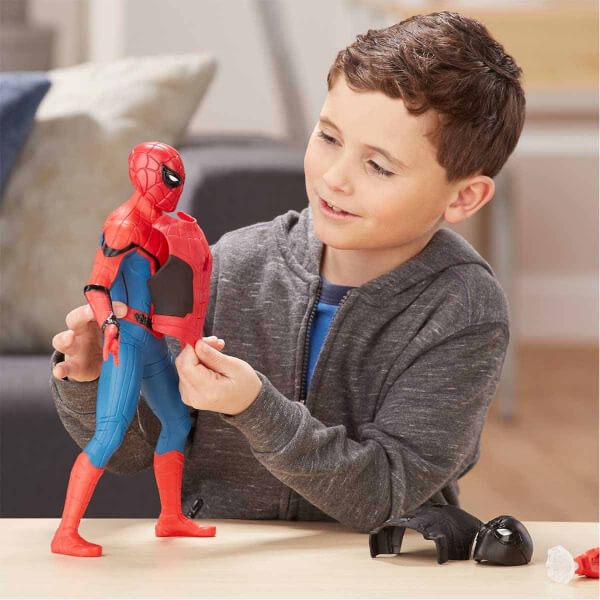 Spiderman : Far From Home Dev Elektronik Spiderman Figürü 33 cm.