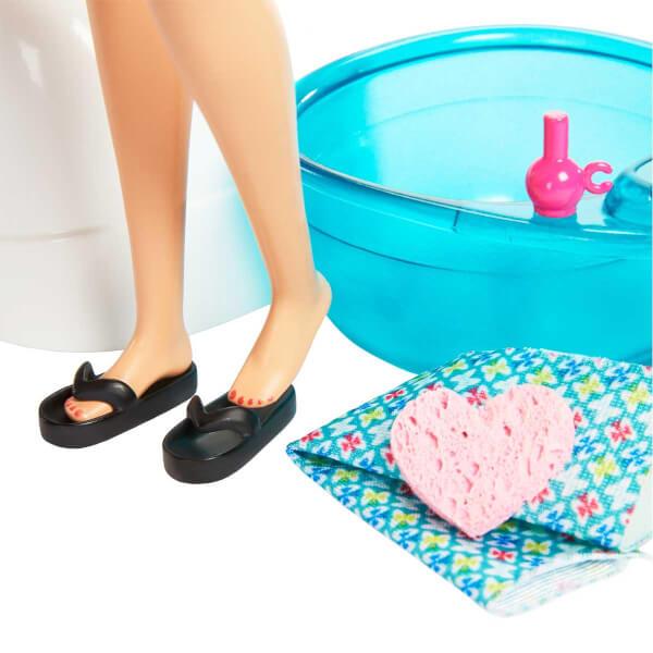 Barbie Sağlıklı Tırnak Bakımı Oyun Seti GHN07