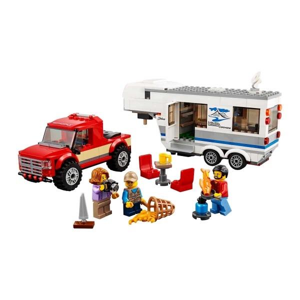 LEGO City Pikap ve Karavan 60182