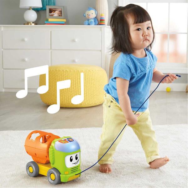 Fisher Price Eğitici Sevimli Kamyon Müzikli GFY41