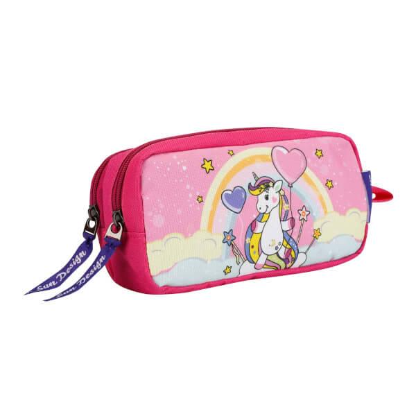 Unicorn Desenli Kalem Kutusu 9049