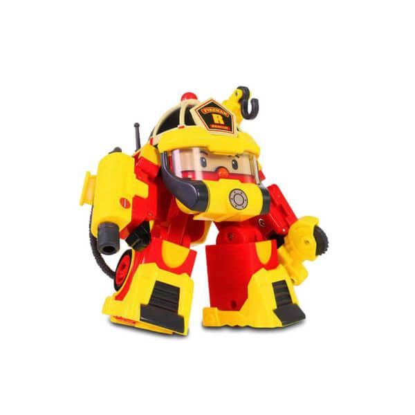 Robocar Poli Aksesuarlı Transformers Robot Figür Roy