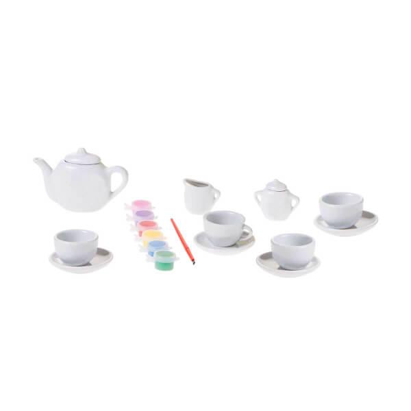 BuBu Porselen Boyama Çay Keyfi Seti
