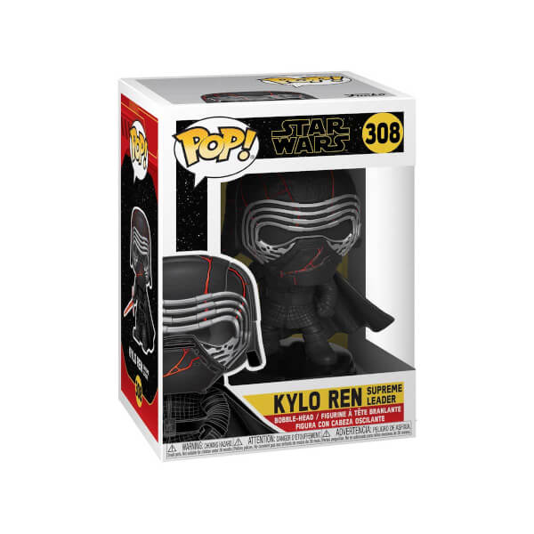 Funko Pop Star Wars: Kylo Ren Supreme Leader Figür