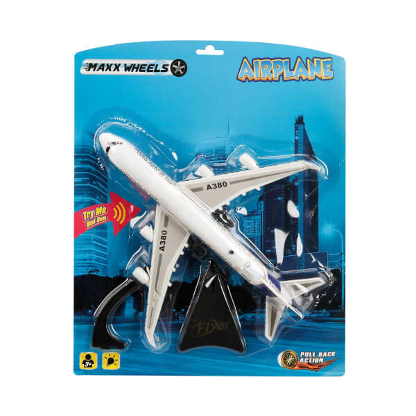A380 Airbus Uçak Işıklı