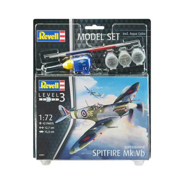 Revell 1:72 Spitfire Model Set Uçak 63897
