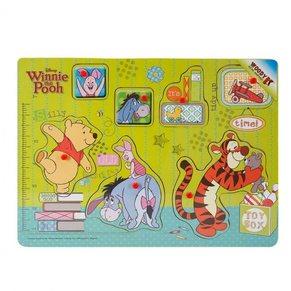 Woody Winnie The Pooh Ahşap Tutmalı Bultak
