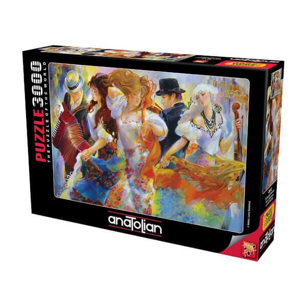 3000 Parça Puzzle : Gökkuşağı Melodisi