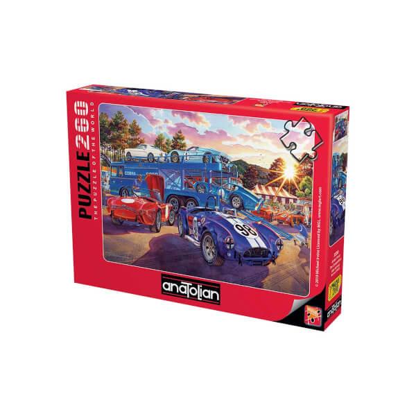 260 Parça Puzzle : Araba Yarışı