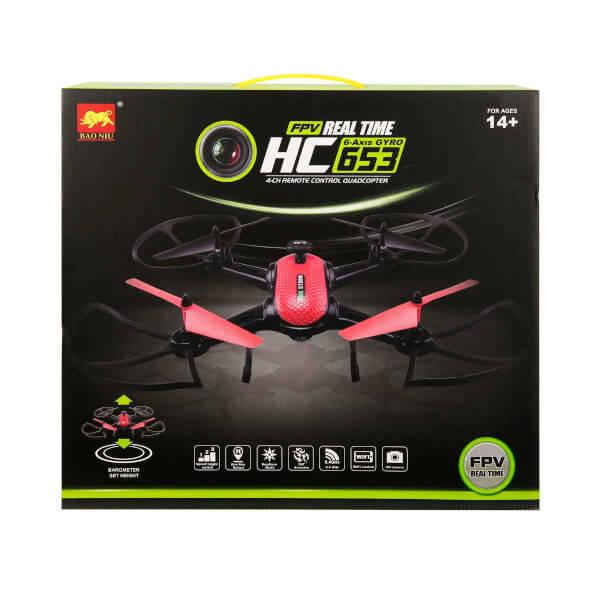 Uzaktan Kumandalı Wifi Kameralı HC617 Drone 4 Kanal 2.4 GHz