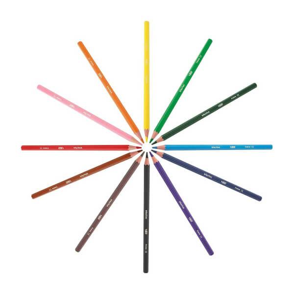Bic Evolution Kuru Boya Kalemi 24 Renk