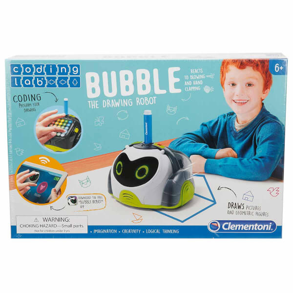 Clementoni Coding Lab Bubble Eğitici Tasarım Robotu