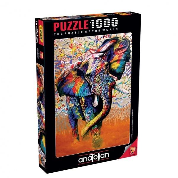 1000 Parça Puzzle : Afrika Temalı