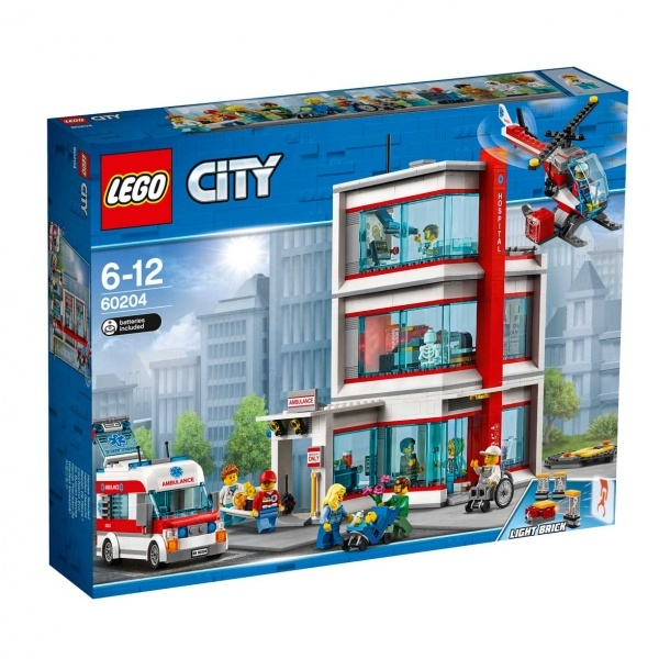 Lego City Town City Hastanesi 60204 Toyzz Shop