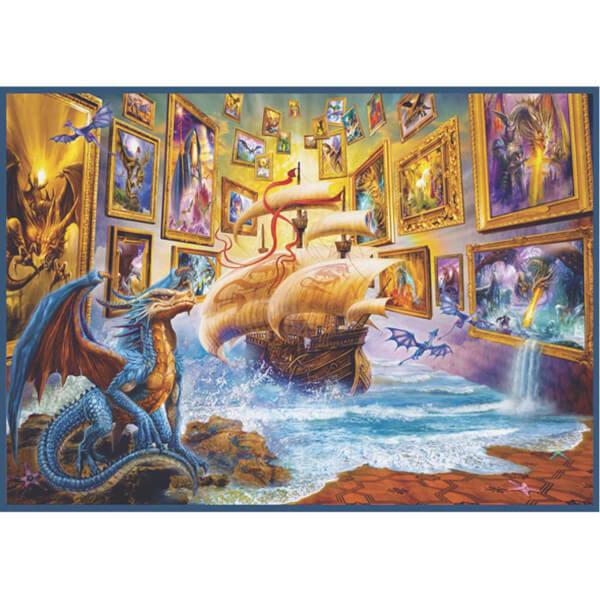 1500 Parça Puzzle : Galeri