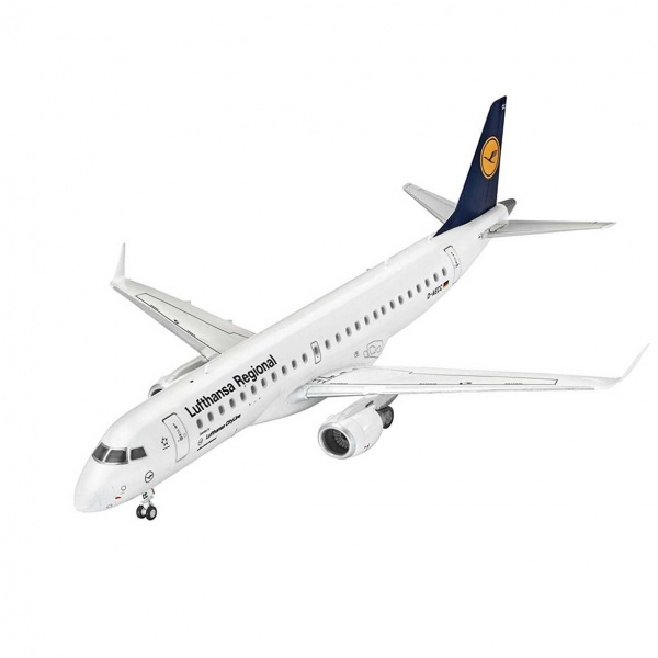 Revell 1:144 Embraer 190 Model Set Uçak 63937