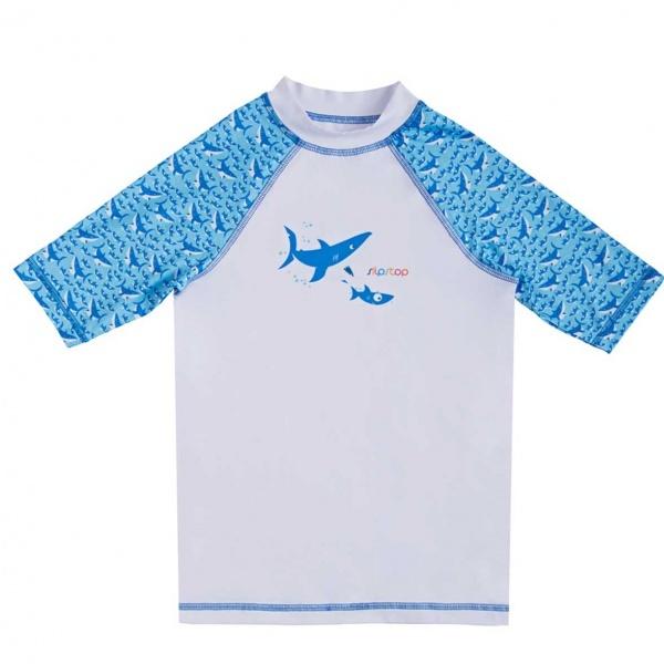 Slipstop Toothy UV Korumlaı Çocuk Tişört