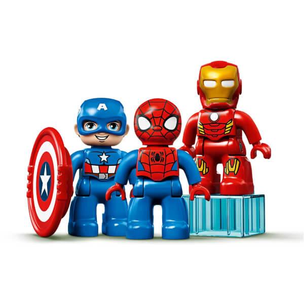 LEGO DUPLO Marvel Süper Kahraman Laboratuvarı 10921