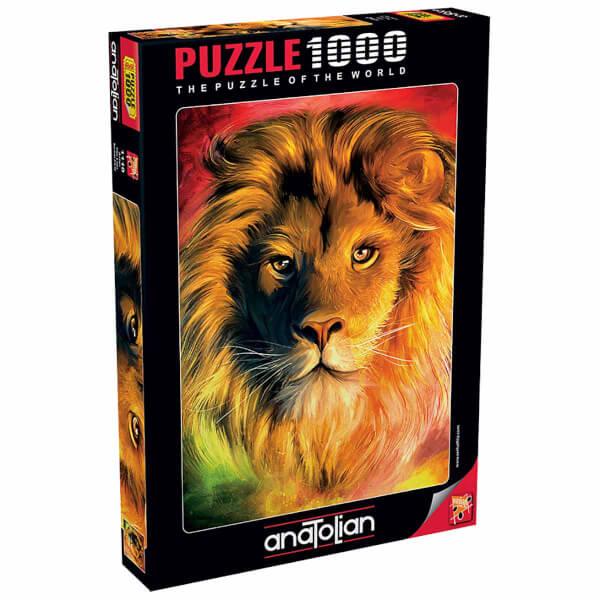 1000 Parça Puzzle : Aslan