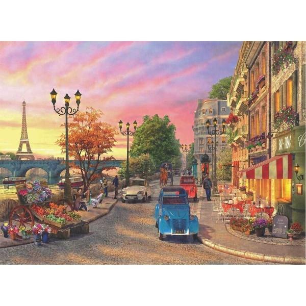 1000 Parça Puzzle : Pariste Akşamüstü
