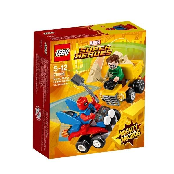 LEGO Marvel Super Heroes Mighty Micros: Scarlet Spider Sandman'e Karşı 76089