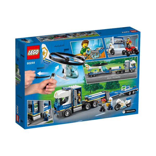 LEGO City Police Polis Helikopteri Nakliyesi 60244