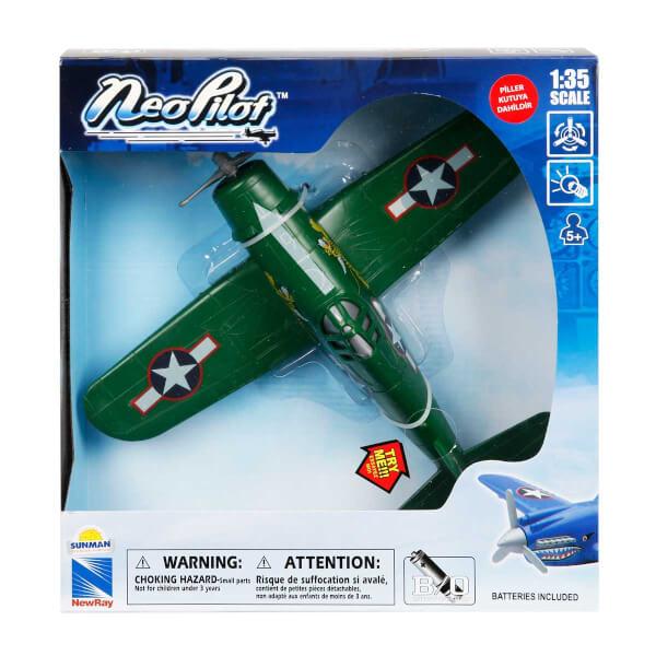 1:35 Neo Pilot Sesli ve Işıklı Model Uçak
