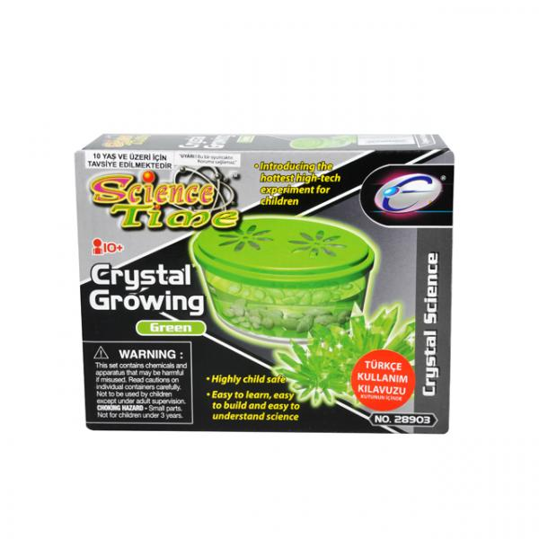 Bilim Seti : Kristal Büyütme Yeşil