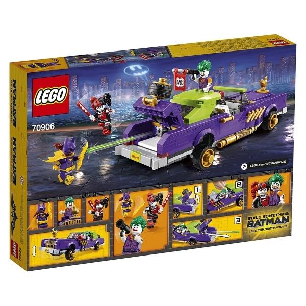 LEGO Batman Joker Kötü Şöhretli Araba 70906