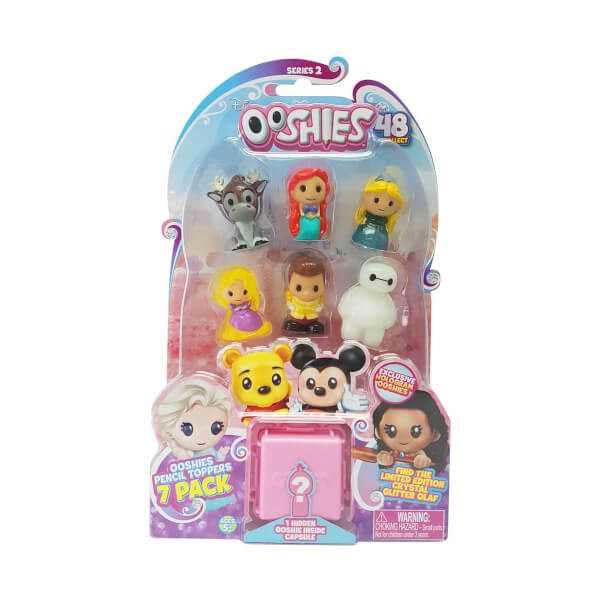 Ooshies Disney Mini Figür 7'li Paket