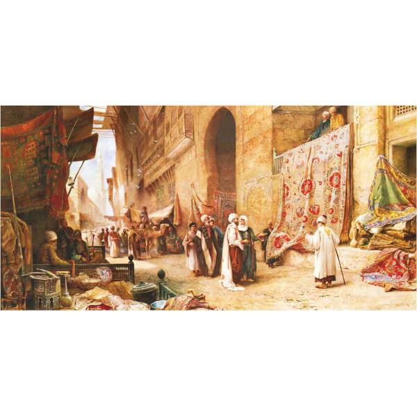 1500 Parça Puzzle : Kahirede Halı Pazarı