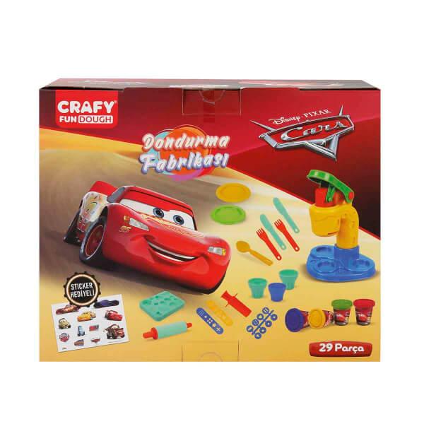 Crafy Cars Dondurma Fabrikası Oyun Hamuru Seti 200 gr. 29 Parça