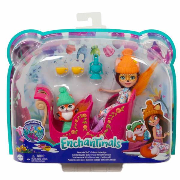 Enchantimals Bebek ve Aracı FJH11