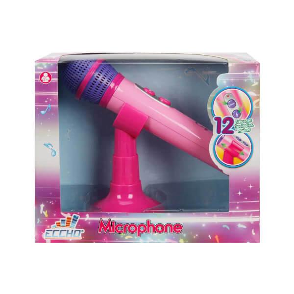 Müzikli ve Işıklı Ayaklı Mikrofon
