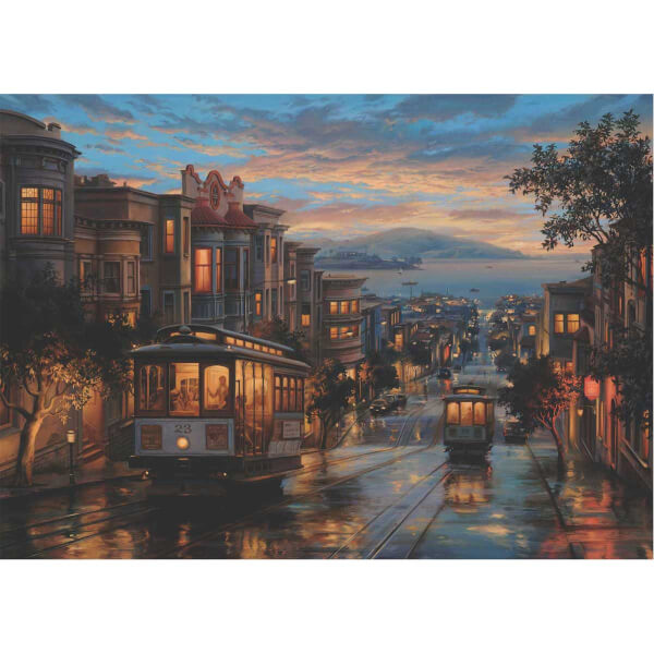 1500 Parça Puzzle : San Francisco Sokakları