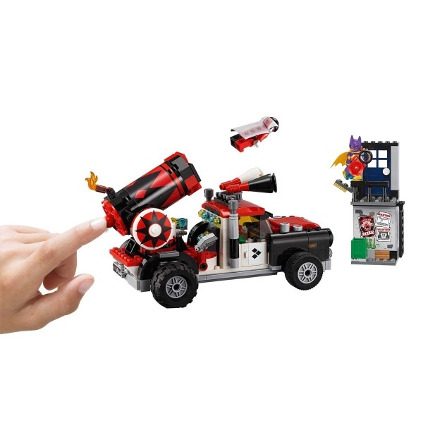 LEGO Batman Movie Harley Quınn Top Saldırısı 70921